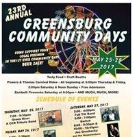 Greensburg Community Days