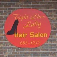 Tight Shoe Lady Salon