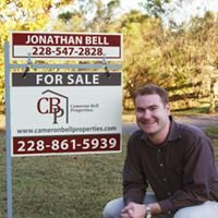 Jonathan Bell, Realtor with Cameron Bell Properties, Serving the MS Coast