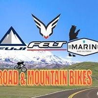 Road and Mountain Bikes
