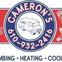 Cameron's Plumbing, Heating, and Cooling