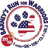 Barney's Run For Warriors