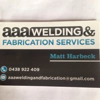 AAA welding & fabrication services