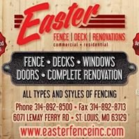 Easter Fence, Deck, and Renovations