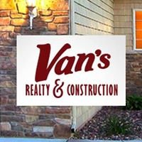 Van's Realty & Construction