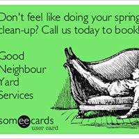 Good Neighbour Yard Services