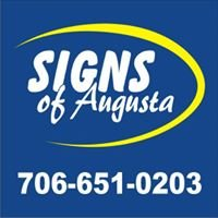 Signs Of Augusta