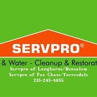 Servpro of Langhorne/Bensalem & Servpro of Fox Chase/Torresdale