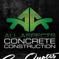 ALL Aspects Concrete Construction