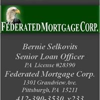Federated Mortgage Corp. -  Bernie Selkovits