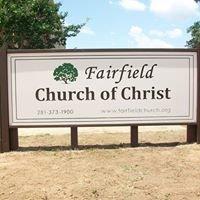 Fairfield Church of Christ in Cypress, TX
