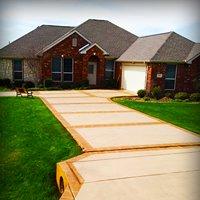 Concrete Staining- Concrete Dreams of Texas