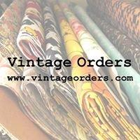 Vintage Orders