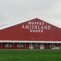 Amishland Big Red Barn