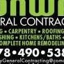 CONWAY GENERAL CONTRACTING