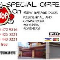 Garage door EASY Access
