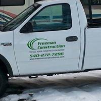 Freeman Construction LLC
