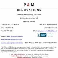 P & M Renovations