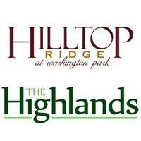 Hilltop Ridge and The Highlands at Washington Park