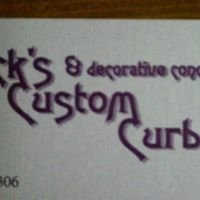 Nick's Custom Curbs and Decorative Concrete