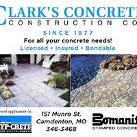 Clark's Concrete Construction Co