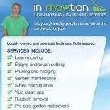 In Mowtion lawn mowing & gardening services