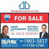 Real-Estate Team: Mitchell Deslippe & Jason Laframboise