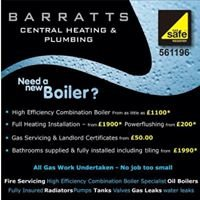 Barratts Central Heating & Plumbing