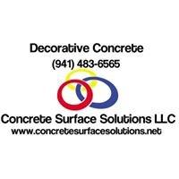 Concrete Surface Solutions LLC - Decorative Concrete
