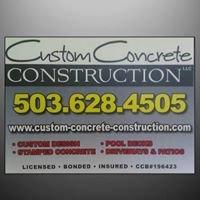 Custom Concrete Construction