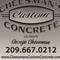 Cheesman's Custom Concrete