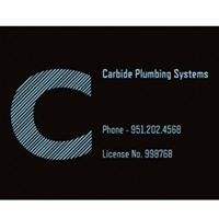Carbide plumbing systems