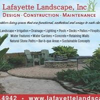 Lafayette Landscape Inc.