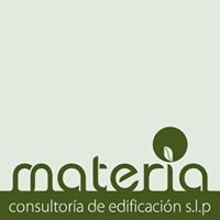 Materia consultoría de edificación