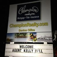 Kelly Hall with Champion Realty