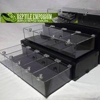 Reptile Emporium Acrylic Displays