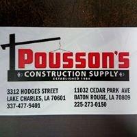 Pousson's Construction Supply