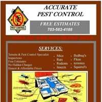 A-Accurate Pest Control