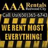 AAA Rentals in Redwood City