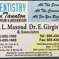 Dentistry On Taunton Ajax