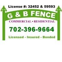 G and B Fence Las Vegas