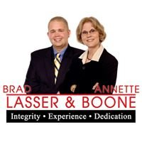 Brad Lasser & Annette Boone with Edina Realty