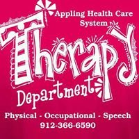 Appling Healthcare Therapy Department