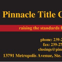 Pinnacle Title Company, Inc - Ft Myers, FL