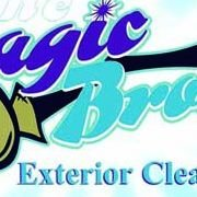 The Magic Broom Exterior Cleaning