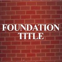 Foundation Title, LLC - Linwood