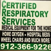 Certified Respiratory Services