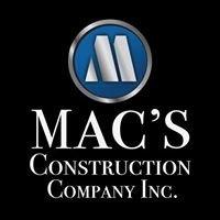 Mac's Construction Company, Inc.