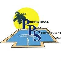 Professional Pool Subcontractors Inc.