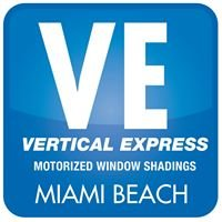 Vertical Express Motorized Window Shadings